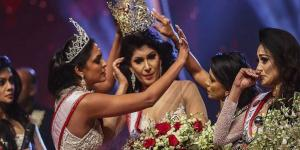فوضى خلال مسابقة ملكة جمال العالم للمتزوجات – فيديو