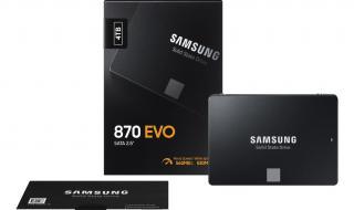 870 Evo SSD من سامسونج يوفر سرعات أعلى وأسعارًا أقل