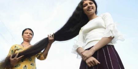 صاحبة أطول شعر في العالم تتخلى عنه وتضع أمامها 3 خيارات