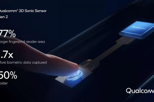 كوالكوم تقدم الجيل الثاني من مستشعر 3D Sonic