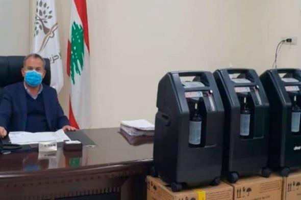 بلدية كفرحزير تتسلم 3 أجهزة تنفس اصطناعي 