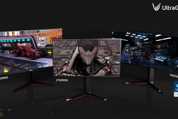 شاشات UltraGear تأتي بدقة 4K مع HDMI 2.1